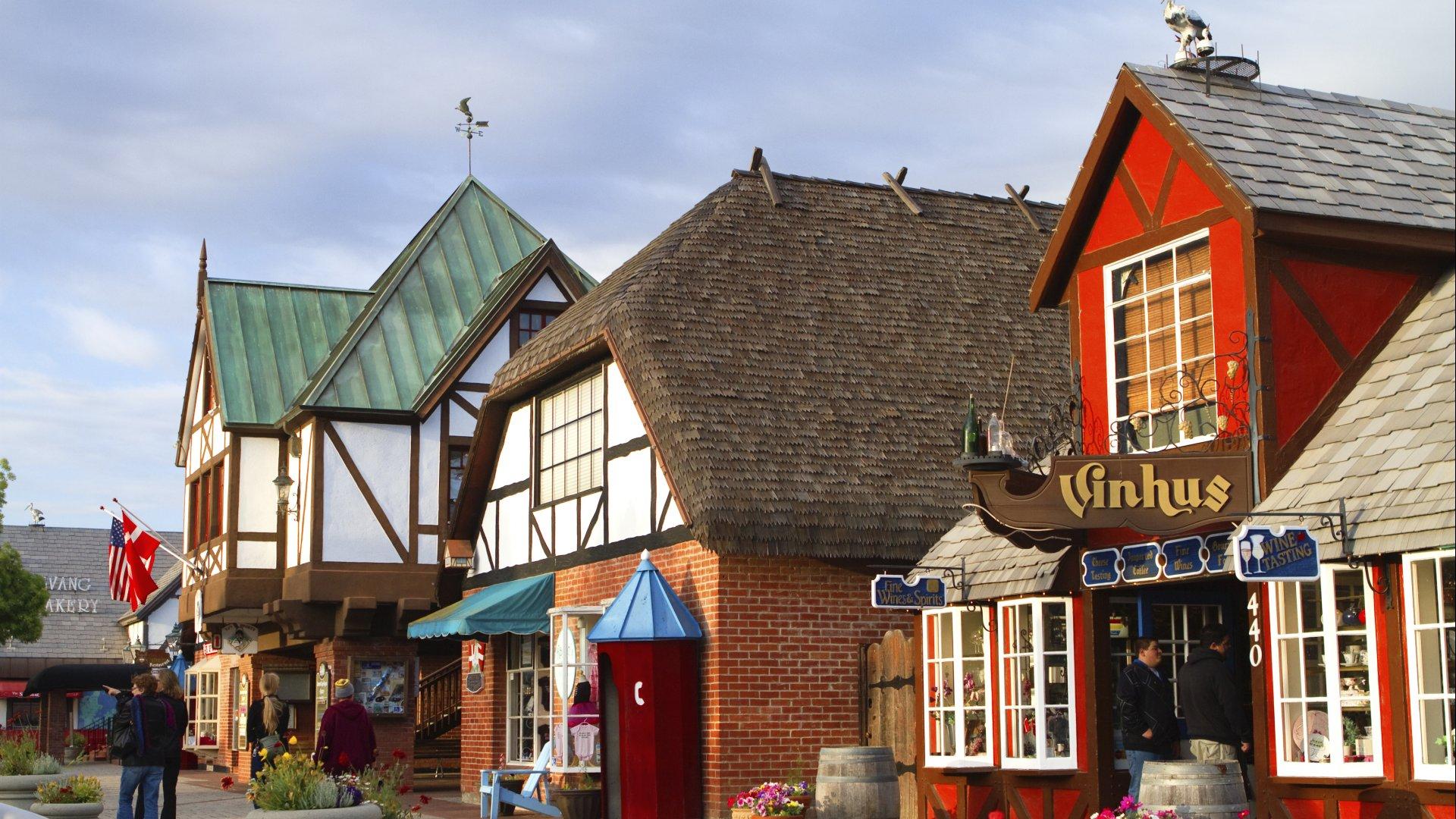 Take a Walk Through a Danish Village