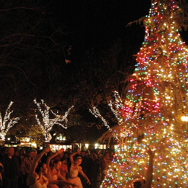 Solvang Julefest Tree Lighting