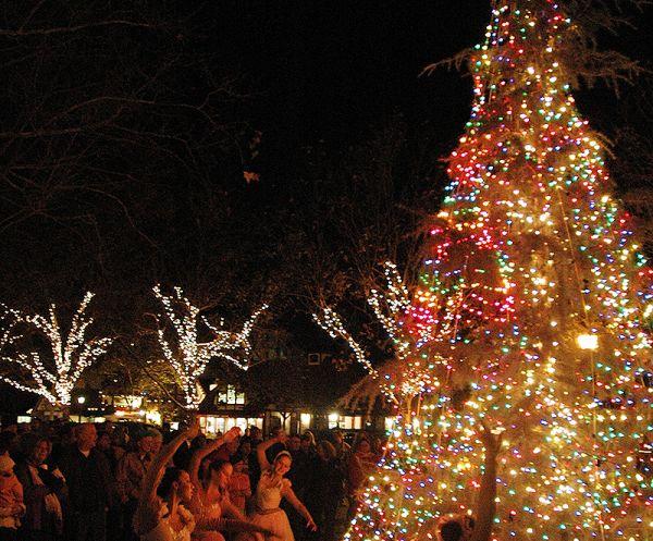 Christmas Tree Lighting.2018 Julefest Tree Lighting