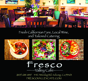 Fresco Valley Cafe, solvang, California