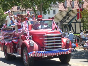 Solvang Independence Day July 4th parade