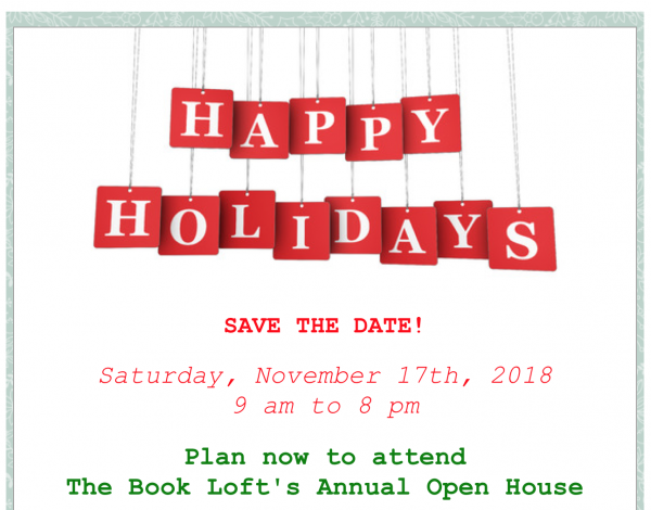 The Book Loft -Holiday Open House in Solvang